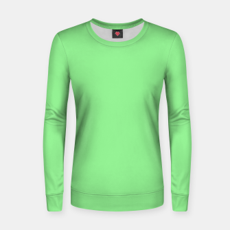color light green Women sweater thumbnail image