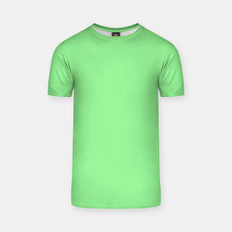 color light green T-shirt thumbnail image