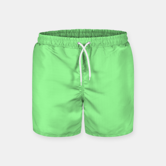 color light green Swim Shorts thumbnail image