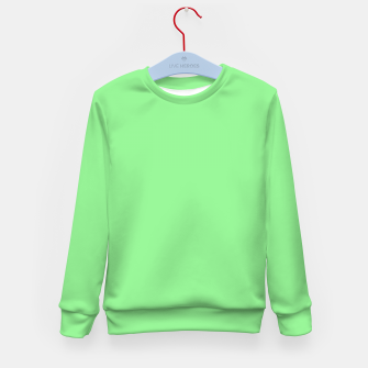 color light green Kid's sweater thumbnail image