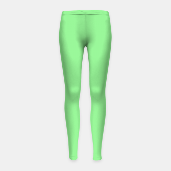 color light green Girl's leggings thumbnail image