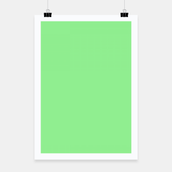 color light green Poster thumbnail image