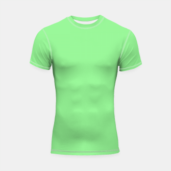 color light green Shortsleeve rashguard thumbnail image