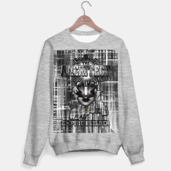 Thumbnail image of The Architect - Empire Builder Abstract Digital Architecture Art Sweater regular, Live Heroes