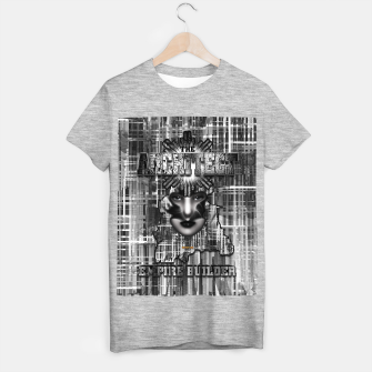 Thumbnail image of The Architect - Empire Builder Abstract Digital Architecture Art T-shirt regular, Live Heroes