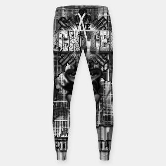 Thumbnail image of The Architect - Empire Builder Abstract Digital Architecture Art Sweatpants, Live Heroes