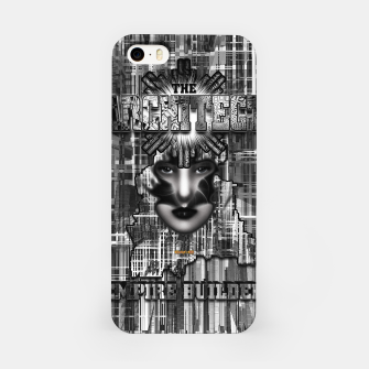 Thumbnail image of The Architect - Empire Builder Abstract Digital Architecture Art iPhone Case, Live Heroes