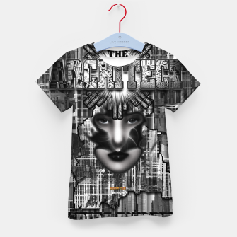 Thumbnail image of The Architect - Empire Builder Abstract Digital Architecture Art Kid's t-shirt, Live Heroes