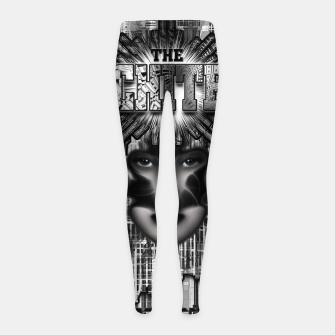 Thumbnail image of The Architect - Empire Builder Abstract Digital Architecture Art Girl's leggings, Live Heroes