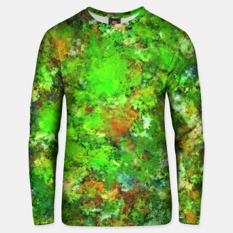 Slippery green rocks Unisex sweater thumbnail image