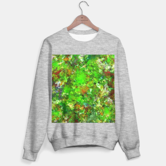 Slippery green rocks Sweater regular thumbnail image