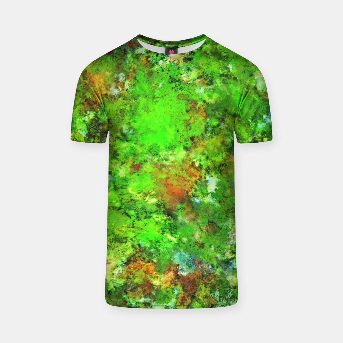 Image of Slippery green rocks T-shirt - Live Heroes