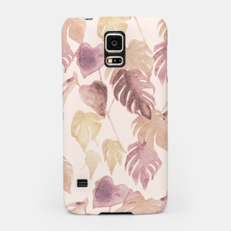 Thumbnail image of Retro blush watercolor botanicals Samsung Case, Live Heroes