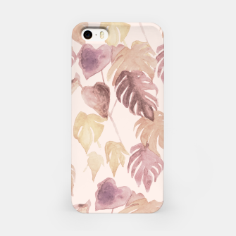 Thumbnail image of Retro blush watercolor botanicals iPhone Case, Live Heroes