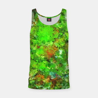Slippery green rocks Tank Top thumbnail image