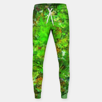 Slippery green rocks Sweatpants thumbnail image