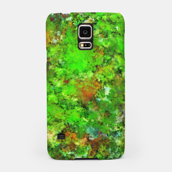 Slippery green rocks Samsung Case thumbnail image