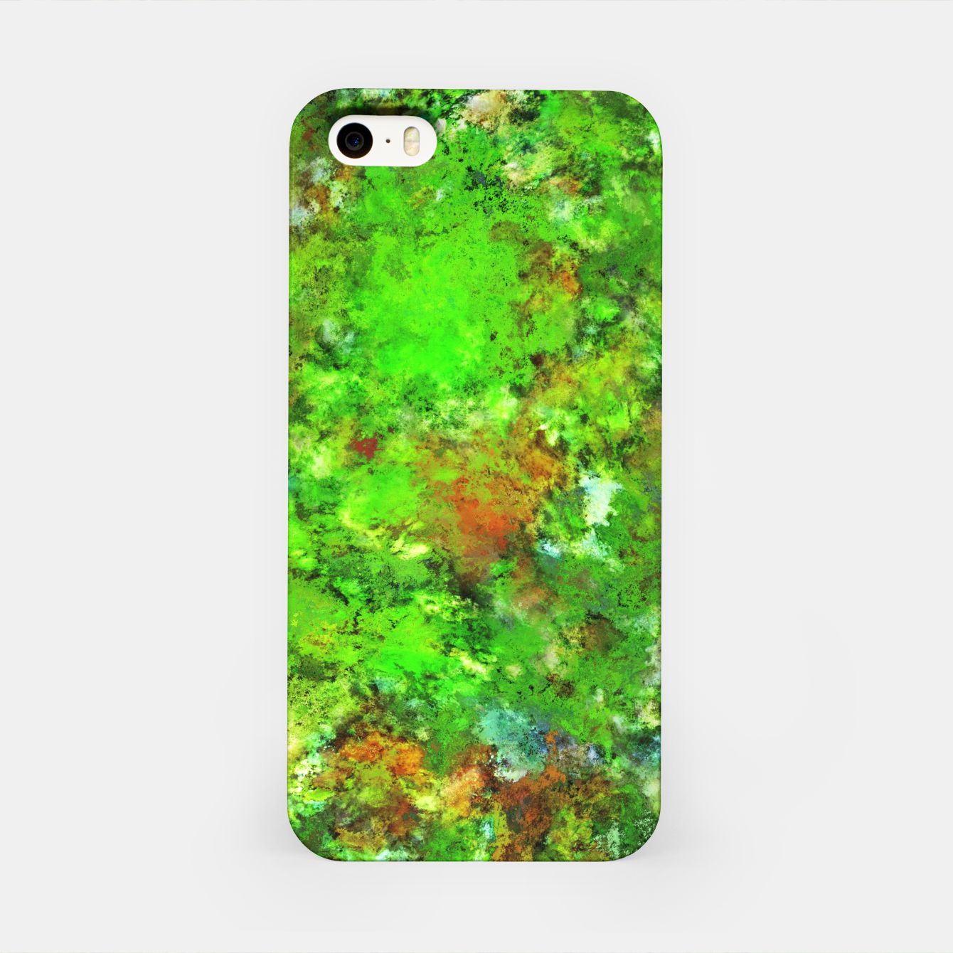 Image of Slippery green rocks iPhone Case - Live Heroes