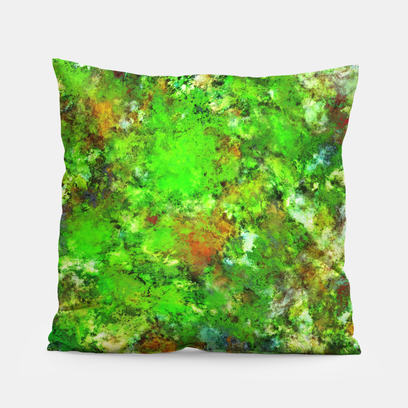 Image of Slippery green rocks Pillow - Live Heroes