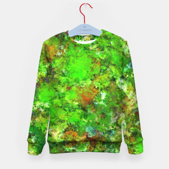 Slippery green rocks Kid's sweater thumbnail image