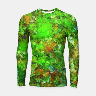 Thumbnail image of Slippery green rocks Longsleeve rashguard , Live Heroes