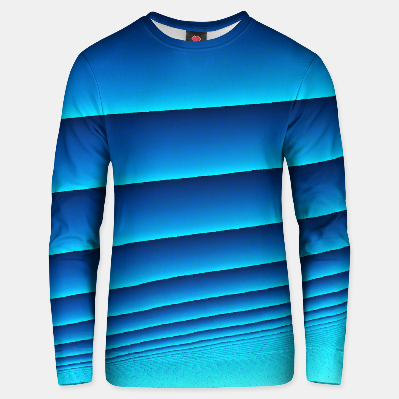 Image of BLUE WAVES Unisex sweater - Live Heroes