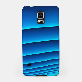 BLUE WAVES Samsung Case thumbnail image