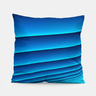 Thumbnail image of BLUE WAVES Pillow, Live Heroes