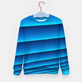 BLUE WAVES Kid's sweater thumbnail image