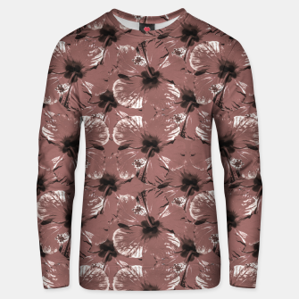Thumbnail image of Hibiscus Flowers Collage Pattern Design Unisex sweater, Live Heroes