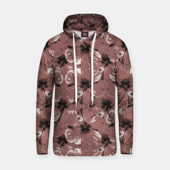 Thumbnail image of Hibiscus Flowers Collage Pattern Design Hoodie, Live Heroes