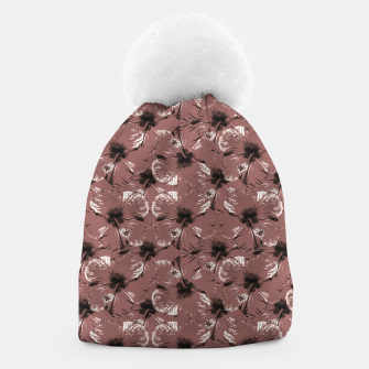 Thumbnail image of Hibiscus Flowers Collage Pattern Design Beanie, Live Heroes