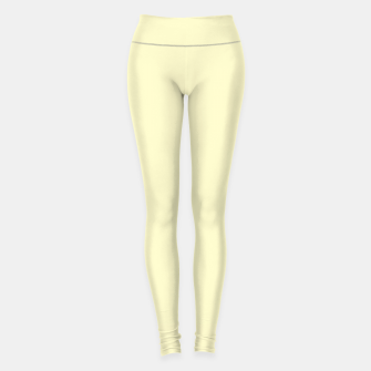 Thumbnail image of color lemon chiffon Leggings, Live Heroes