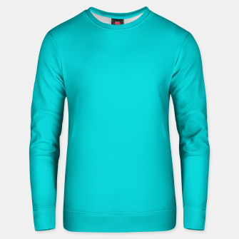 Thumbnail image of color dark turquoise Unisex sweater, Live Heroes