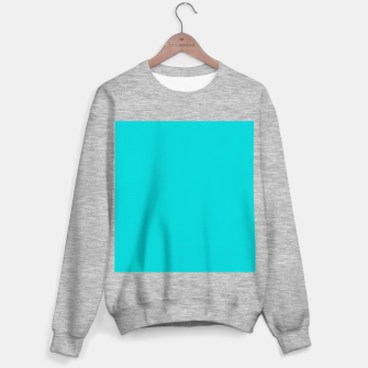 Thumbnail image of color dark turquoise Sweater regular, Live Heroes