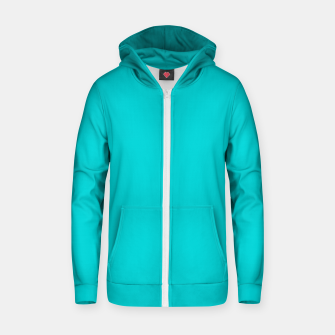 Thumbnail image of color dark turquoise Zip up hoodie, Live Heroes