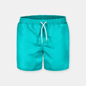 Thumbnail image of color dark turquoise Swim Shorts, Live Heroes