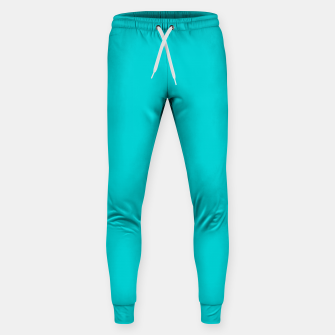Thumbnail image of color dark turquoise Sweatpants, Live Heroes