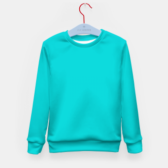 Thumbnail image of color dark turquoise Kid's sweater, Live Heroes