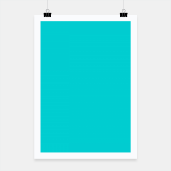 Thumbnail image of color dark turquoise Poster, Live Heroes