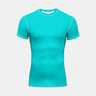 Thumbnail image of color dark turquoise Shortsleeve rashguard, Live Heroes