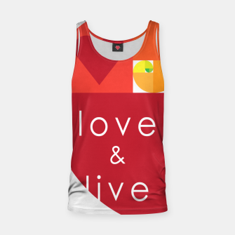 Thumbnail image of love and live Camiseta de tirantes, Live Heroes
