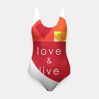 Thumbnail image of love and live Traje de baño, Live Heroes