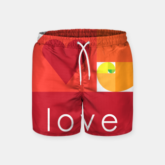 Thumbnail image of love and live Pantalones de baño, Live Heroes