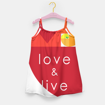 Thumbnail image of love and live Vestido para niñas, Live Heroes
