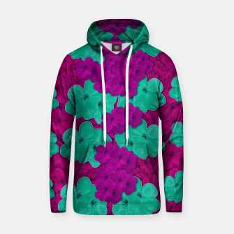 Thumbnail image of Floral and  more florals   popart Hoodie, Live Heroes