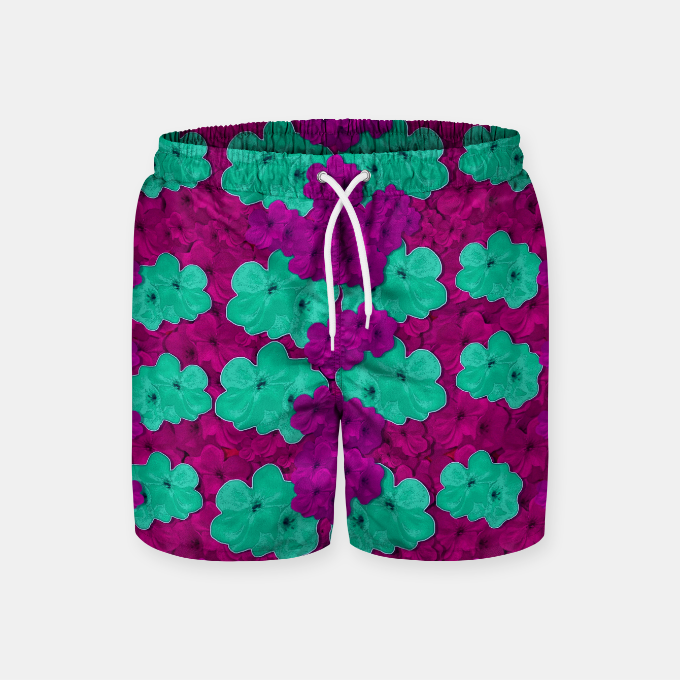 Foto Floral and  more florals   popart Swim Shorts - Live Heroes
