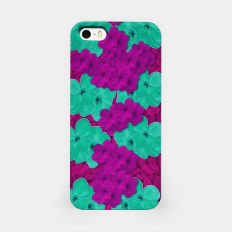Floral and  more florals   popart iPhone Case Bild der Miniatur
