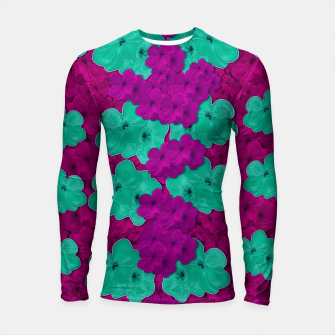 Miniatur Floral and  more florals   popart Longsleeve rashguard , Live Heroes