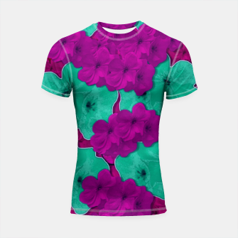Thumbnail image of Floral and  more florals   popart Shortsleeve rashguard, Live Heroes